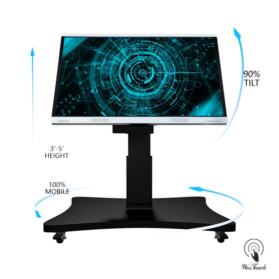 75 inches touch screen with Automatic stand