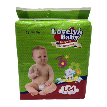 Dry Surface High Absorbent SAP Disposable Baby Diaper