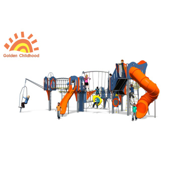 Multiply HPL Plastic Climbing Slide Equipment Sets