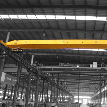 Henan single girder overhead crane workshop use design
