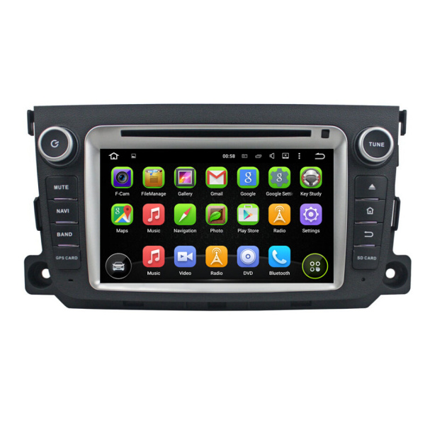 Android Car DVD Player For Benz Smart 2011-2012