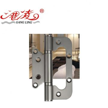 Rounded stainless steel iron door hinge