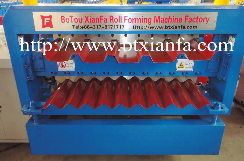 roll forming machine for steel