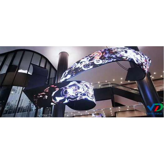 P2 flexible inflect led display