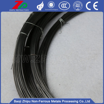 High temperature 0.25mm black edm molybdenum wire