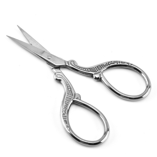 Restore ancient ways small scissors beauty scissors, stainless steel scissors brows
