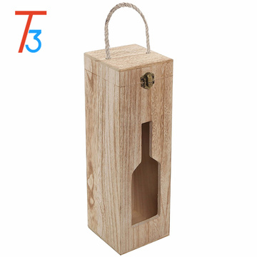 country rustic wooden wine crate storage gift boxes