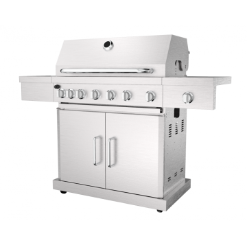 Six Burner Grill with Infrared Rear Burner