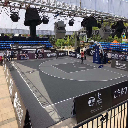 SES Flex Joint Modular Courts Tiles Sports Flooring