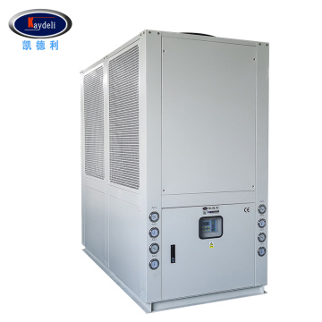 Air cooled cryogenic refrigeration