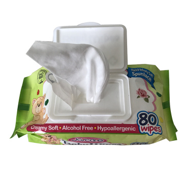 Water Natural Care OEM Baby wipes Baby Portable Custom Wet Wipe