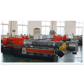 plastic pellet two stage compounding extruder