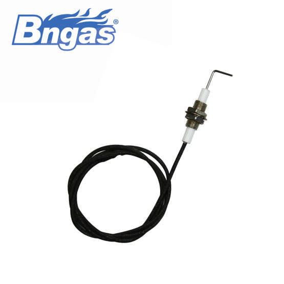 Gas ignition ceramics ignition electrode for gas oven