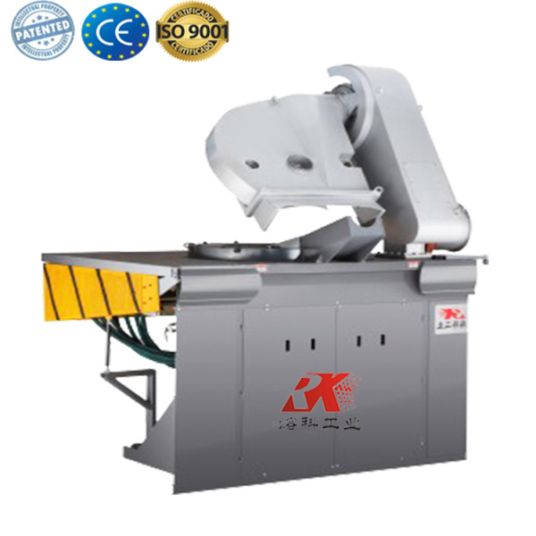 Induction industrial furnace electric melting pot
