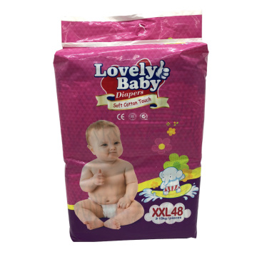 Disposable 3D prevent leakage Ultra-soft Baby Diapers