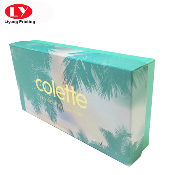 Women cashmere scarf box design customized