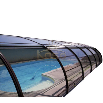 Electric And Automatic Swimming Pool Covering System