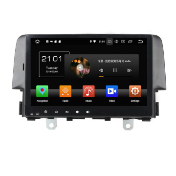 Civic 2016 car auto multimedia dvd player