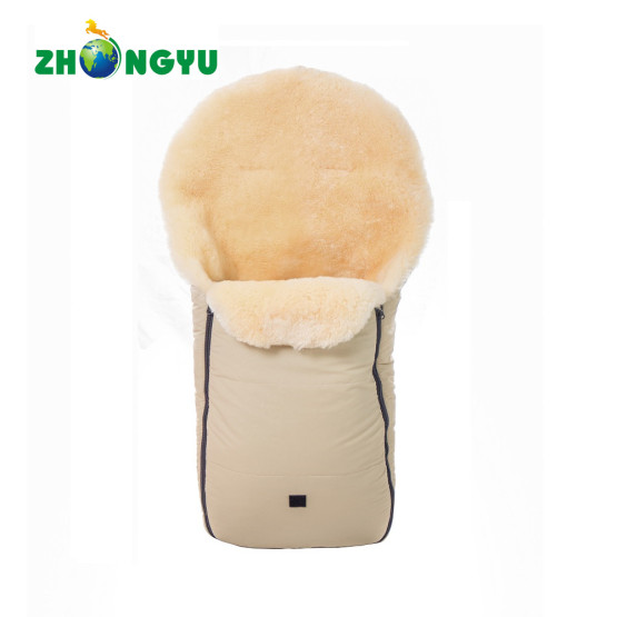 Sheepskin Footmuff for Stroller