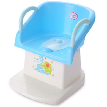 Plastic Baby Potty Chair Toilet Seat With Armrest