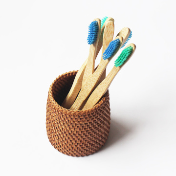 Custom Logo Bamboo Toothbrush