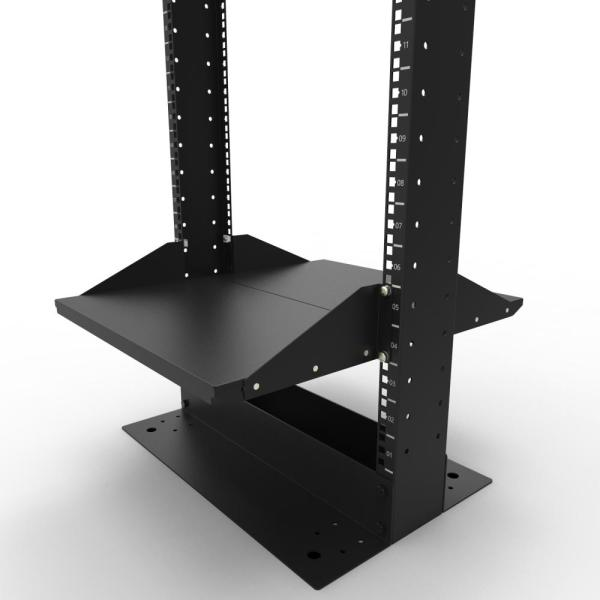 2U 2Pcs Set Cantilever Server Shelf Rack Mount