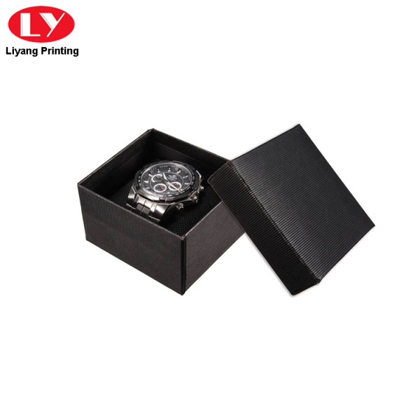 fashion paper packaging watch box with customer desgin