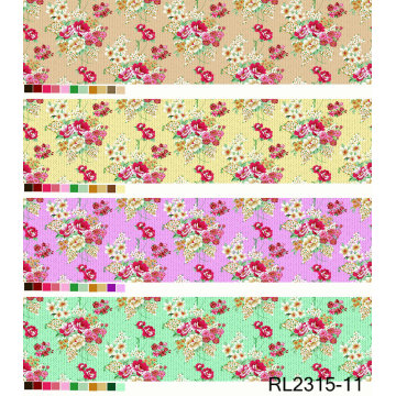 100 Polyester Custom Woven Print Fabric Reasonable Price