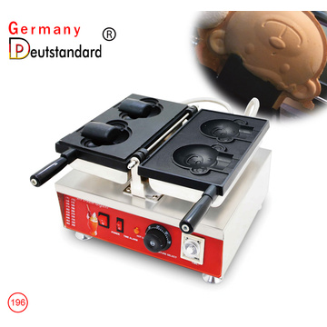 bear shape waffle maker commercial taiyaki machine with factory price for sale