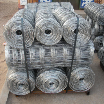 fixed knot woven wire field fence for goats