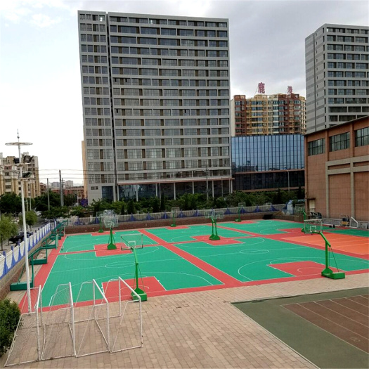 Outdoor Basketball Court Tiles Floorings