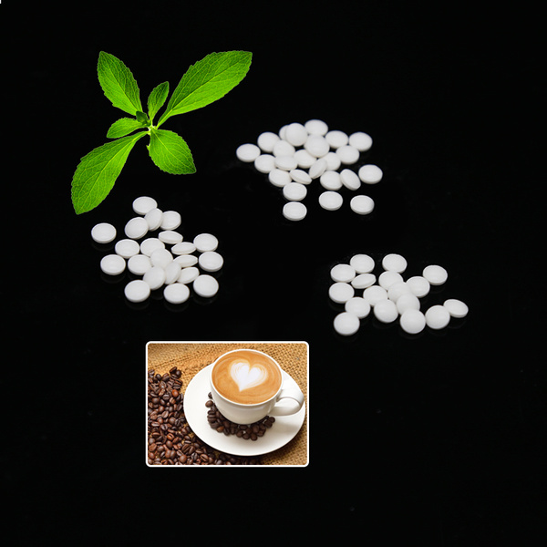 Cheaper High Sweetness Stevia Tablet Producer