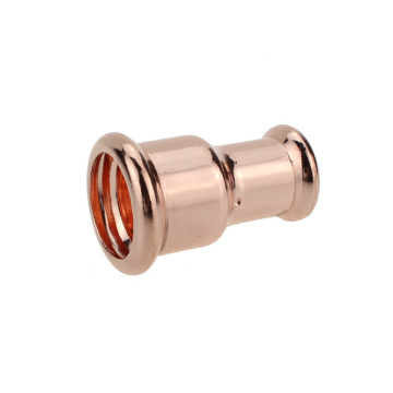 Copper M-press reducer coupling