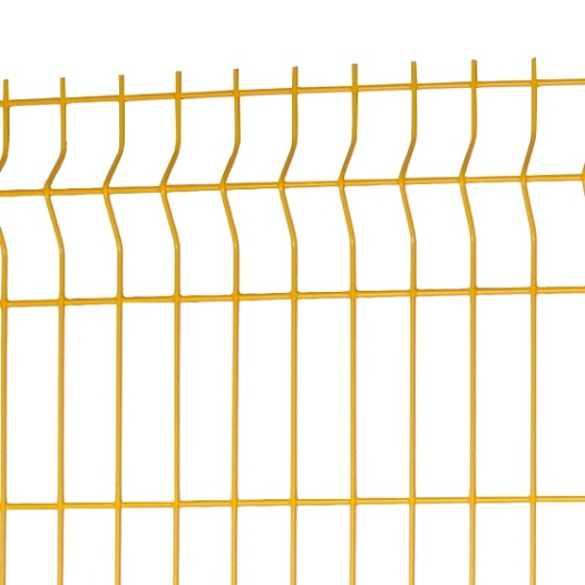 3d 6 gauge iron welded wire mesh garden fence panels Gates Clips