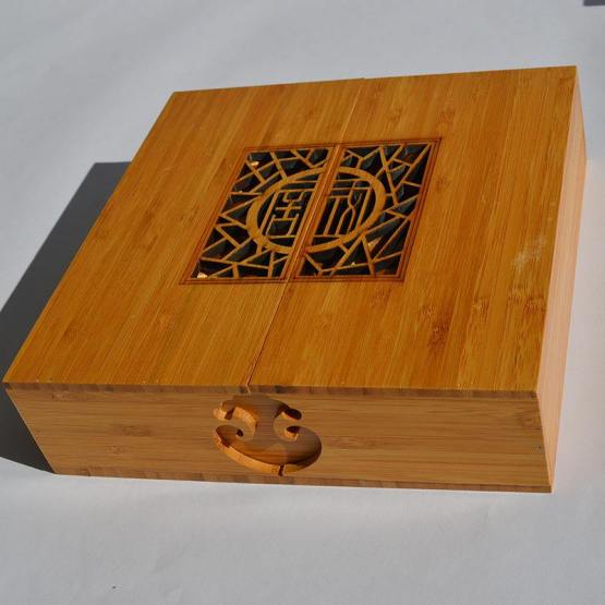 Bamboo Food Packaging Box