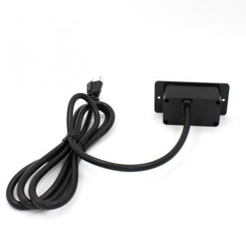US Single Outlet Unit Strip With USB