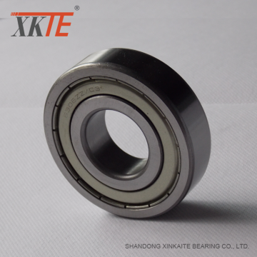 Conveyor Parts Steel Shielded Bearing 6205 ZZ C3