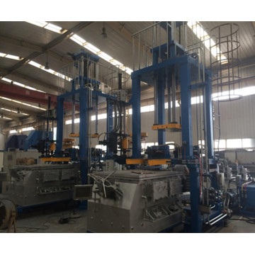 The Electric low pressure casting machine