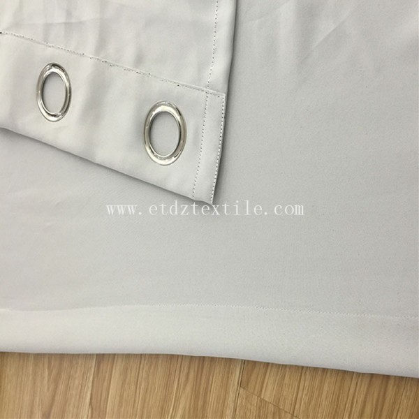 elegant soft touch grommet curtain