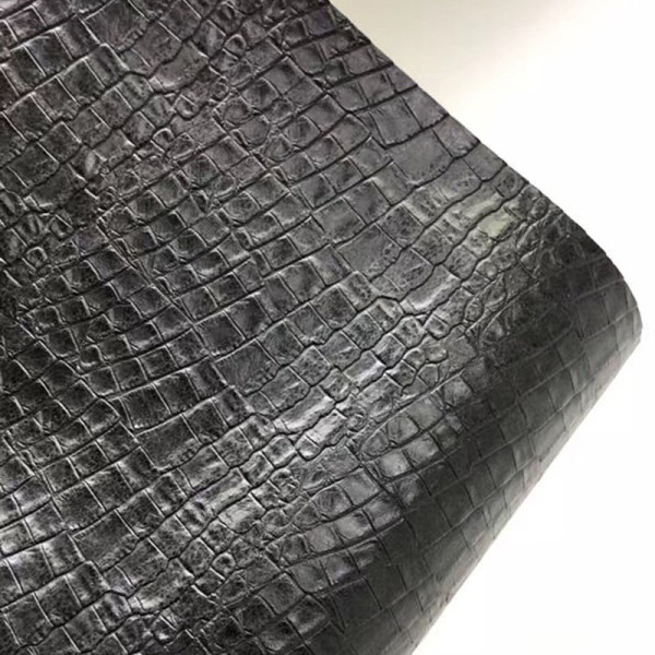 bag material Fake crocodile leather PU Artifical leather