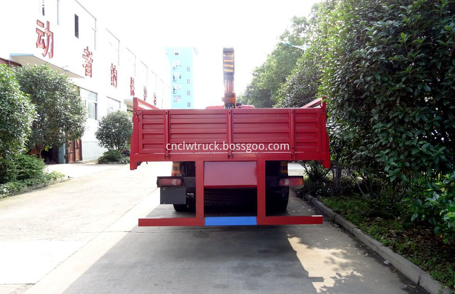 commercial truck mounted crane 2