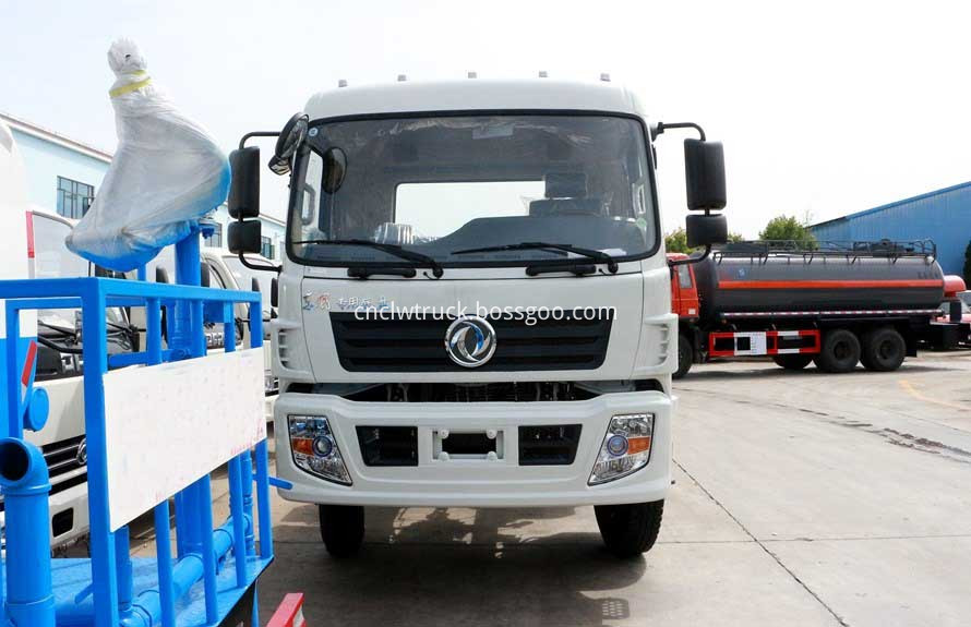 plant watering truck chassis 1