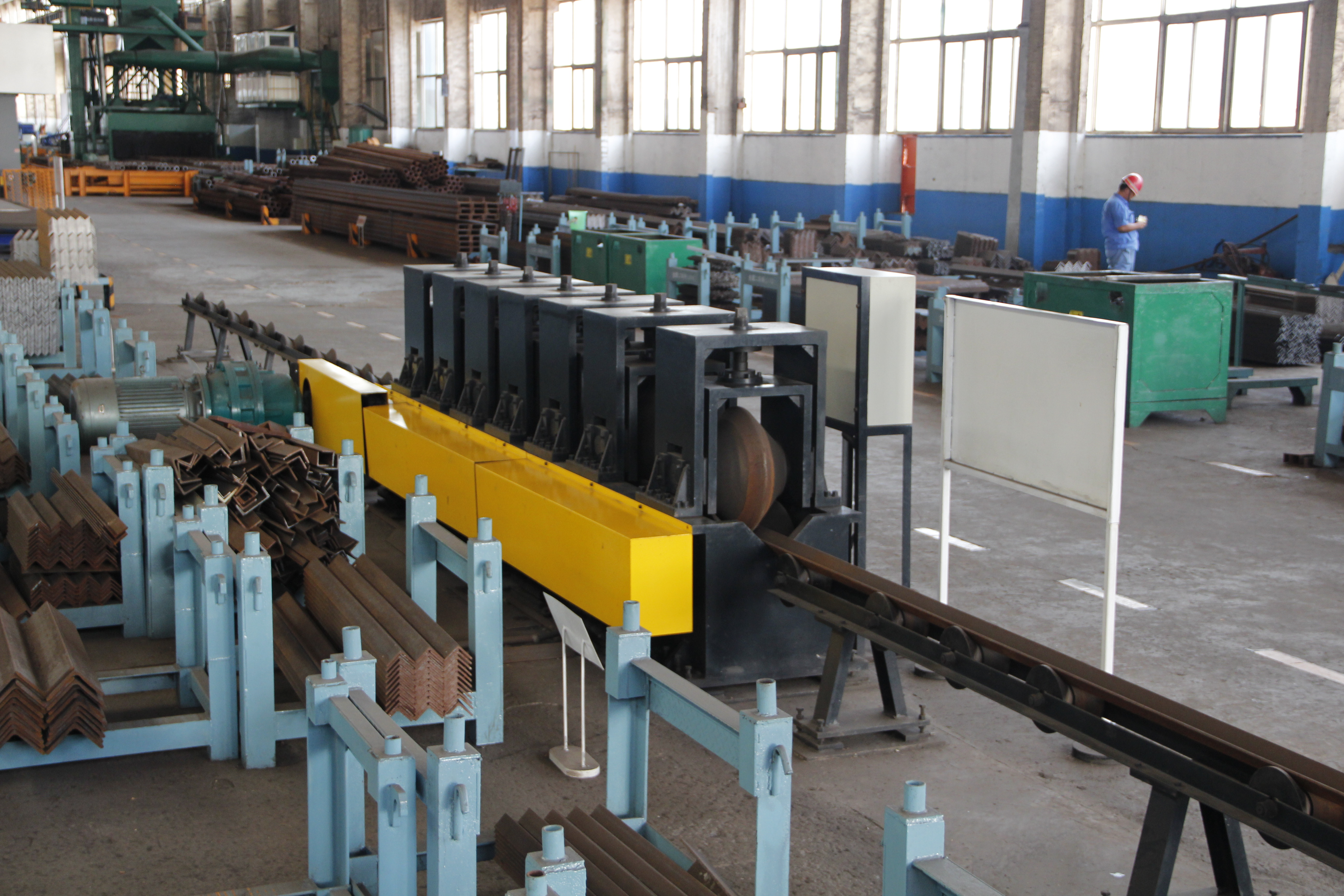 Bar Steel Straightening Machine