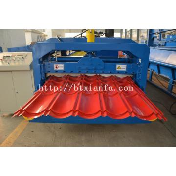 Uganda Tiles Steel Roof Panel Machine