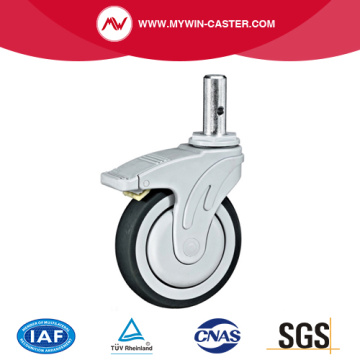 Round Stem Medical Catser with Brake