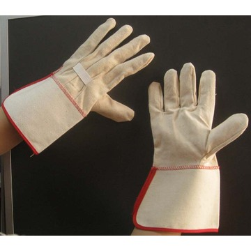Safety Working Canvas Gloves