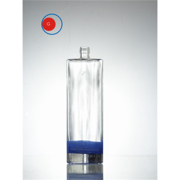 Square Shape Glass Bottle