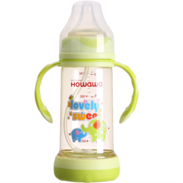 Wide Neck Anti-Flatulence PPSU Baby Feeding Bottle