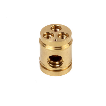 Brass Bath Valve Body by CNC
