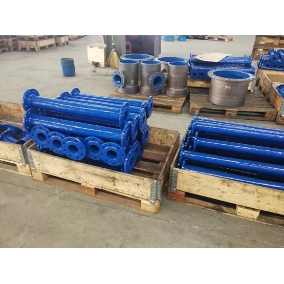 Double Flanged Short Pipe